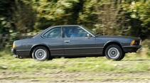 BMW 628 CSi, Seitenansicht