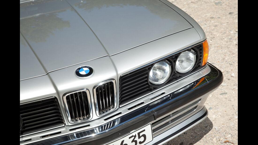 BMW 635 CSi, Frontscheinwerfer