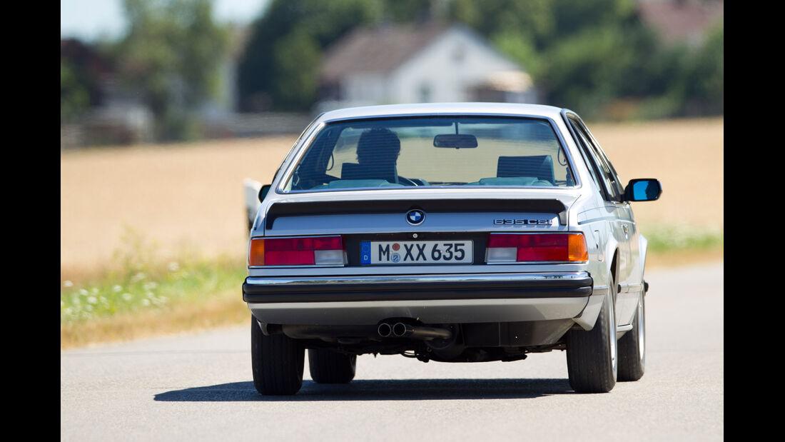 BMW 635 CSi, Heckansicht