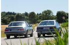 BMW 635 CSi, Opel Monza 3.0 E, Heckansicht