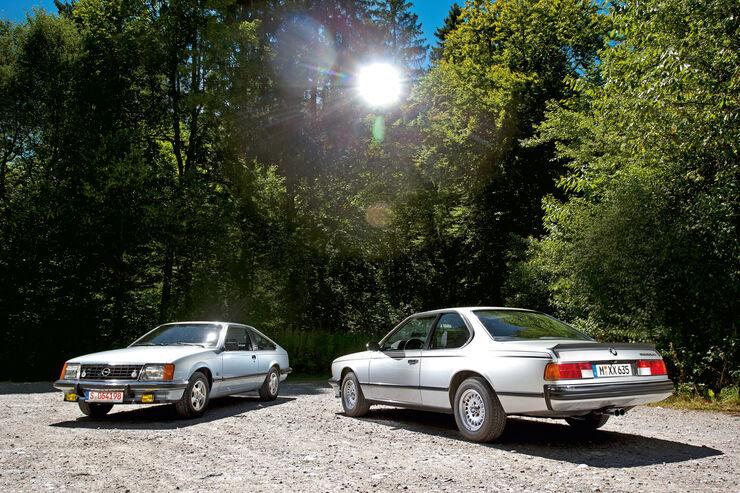 BMW 635 CSi, Opel Monza 3.0 E