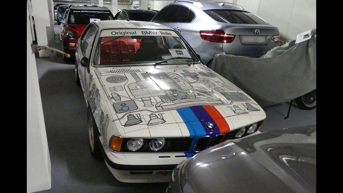 """BMW 635 CSi """"Original BMW Teile"""" - Baujahr 1984 - Rennwagen - BMW Depot"""