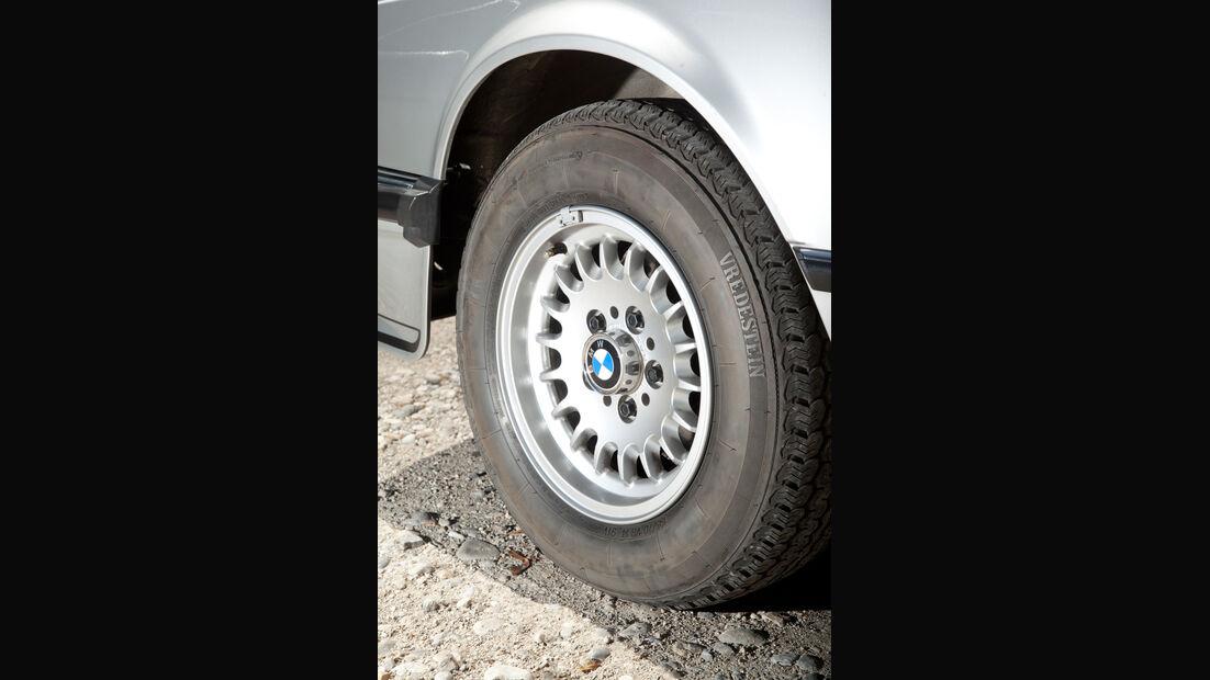 BMW 635 CSi, Rad, Felge