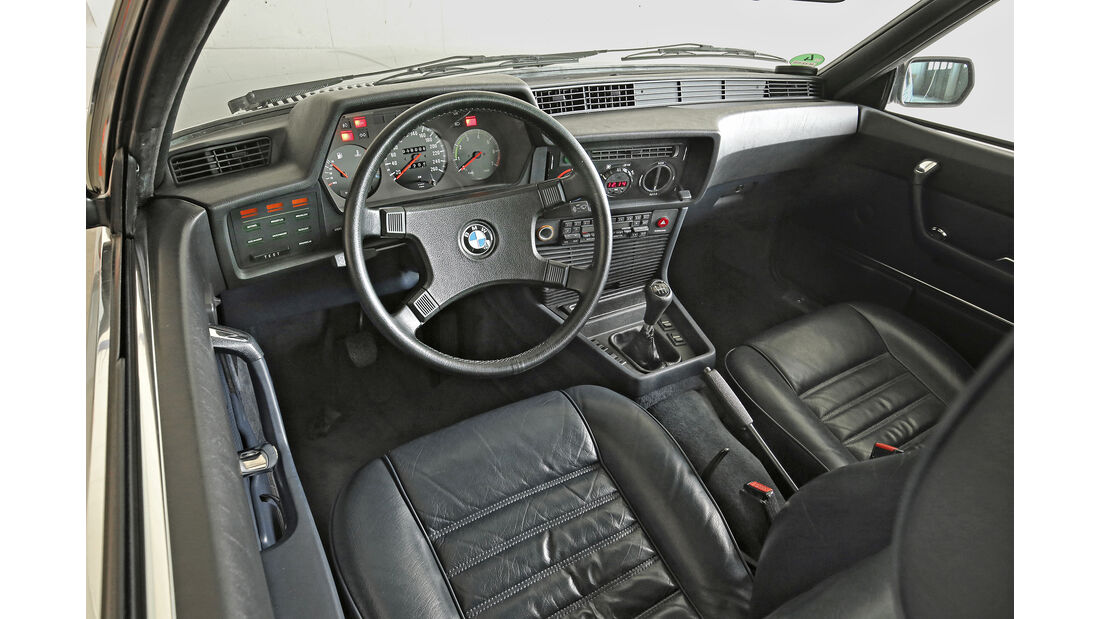 BMW 635 Csi, Interieur