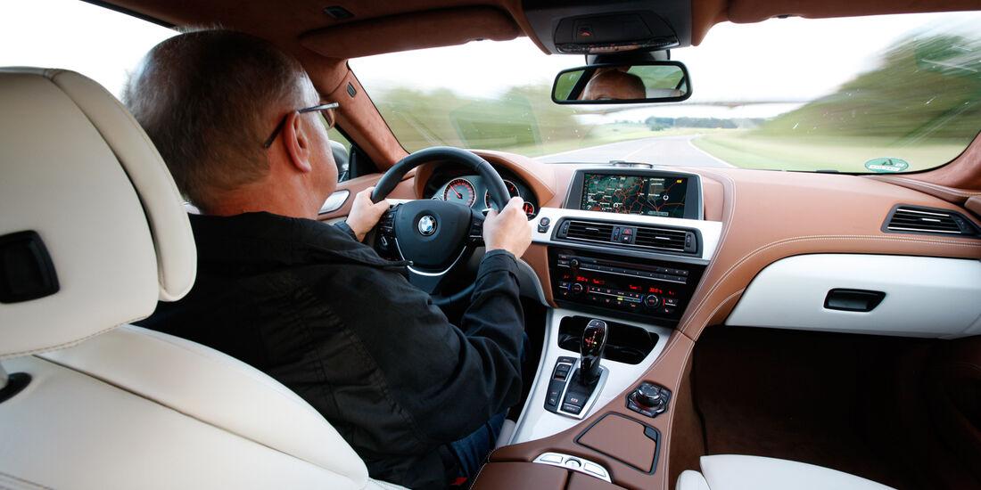 BMW 640d Gran Coupé, Cockpit