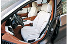 BMW 640d Gran Coupé, Fahrersitz, Sitze