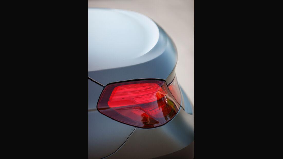 BMW 640d Gran Coupé, Heckspoiler