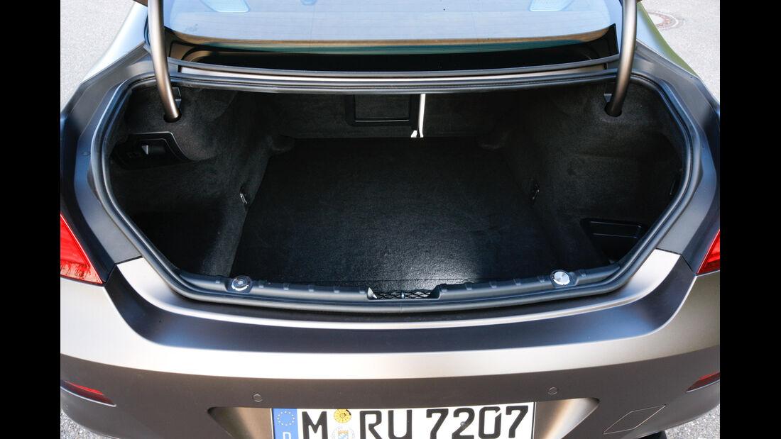 BMW 640d Gran Coupé, Kofferraum