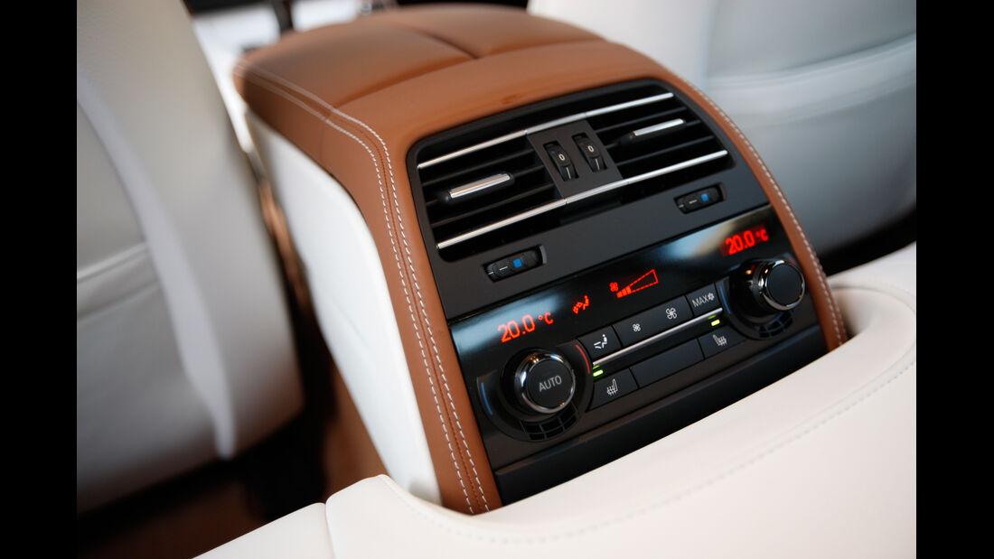 BMW 640d Gran Coupé, Mittelkonsole