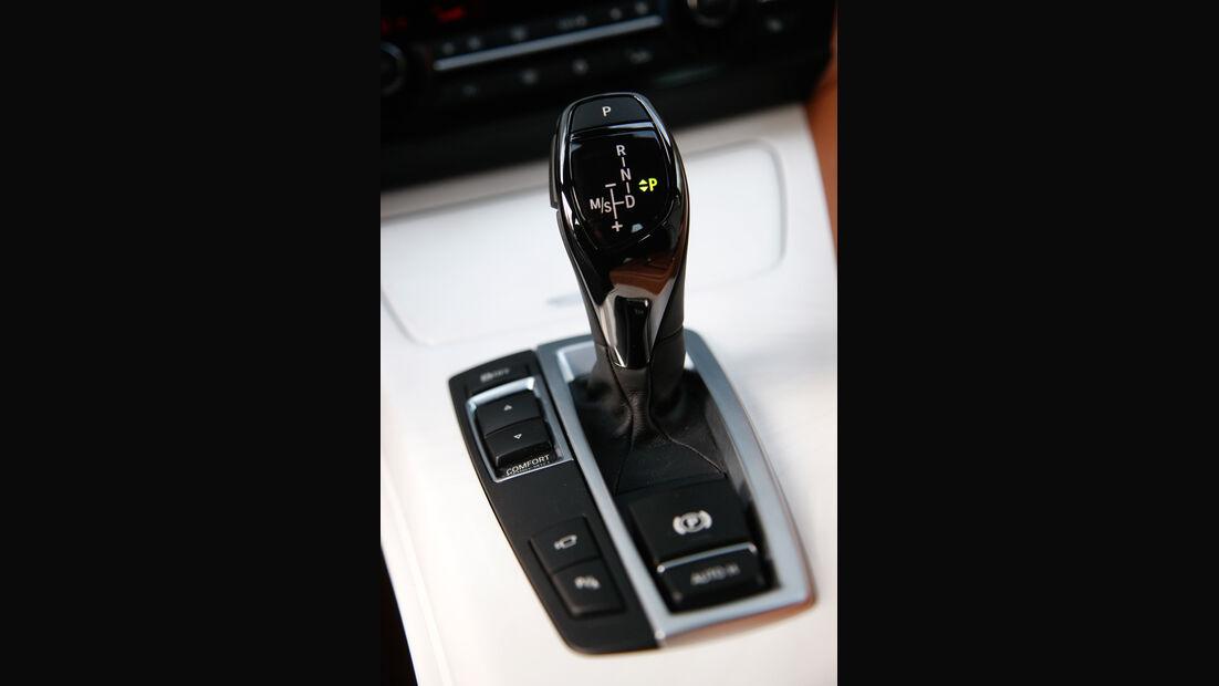 BMW 640d Gran Coupé, Schalthebel, Gangschaltung