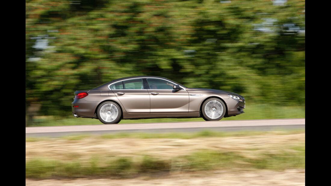 BMW 640d Gran Coupé, Seitenansicht
