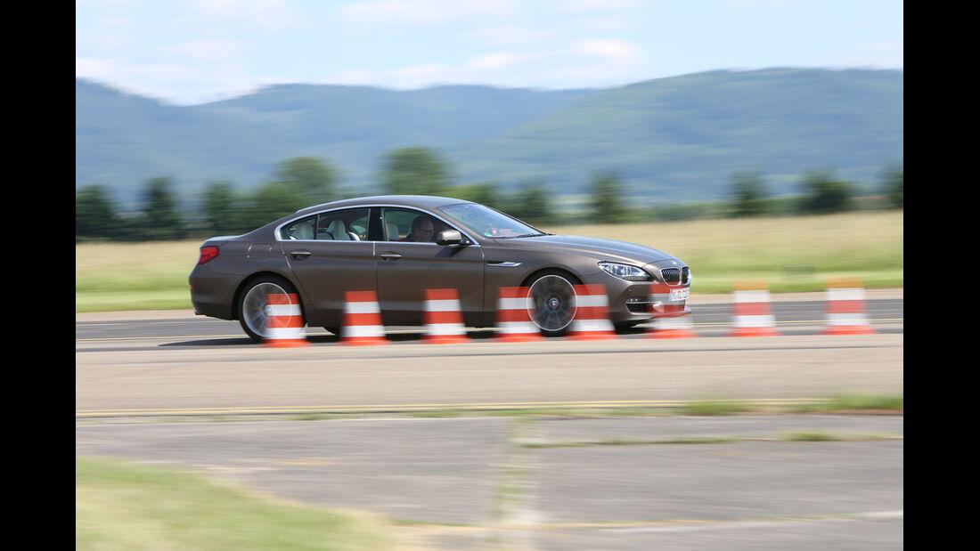 BMW 640d Gran Coupé, Seitenansicht, Bremstest