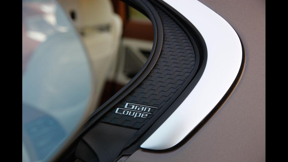 BMW 640d Gran Coupé, Seitenfenster