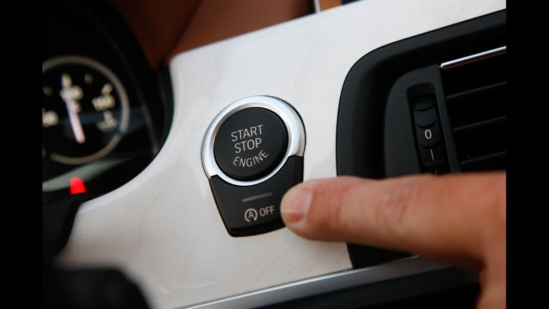 BMW 640d Gran Coupé, Start-Stopp-Automatik