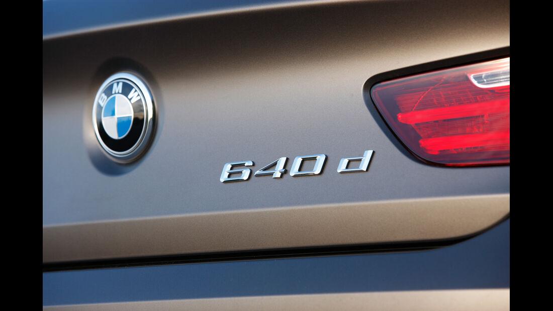 BMW 640d Gran Coupé, Typenbezeichnung