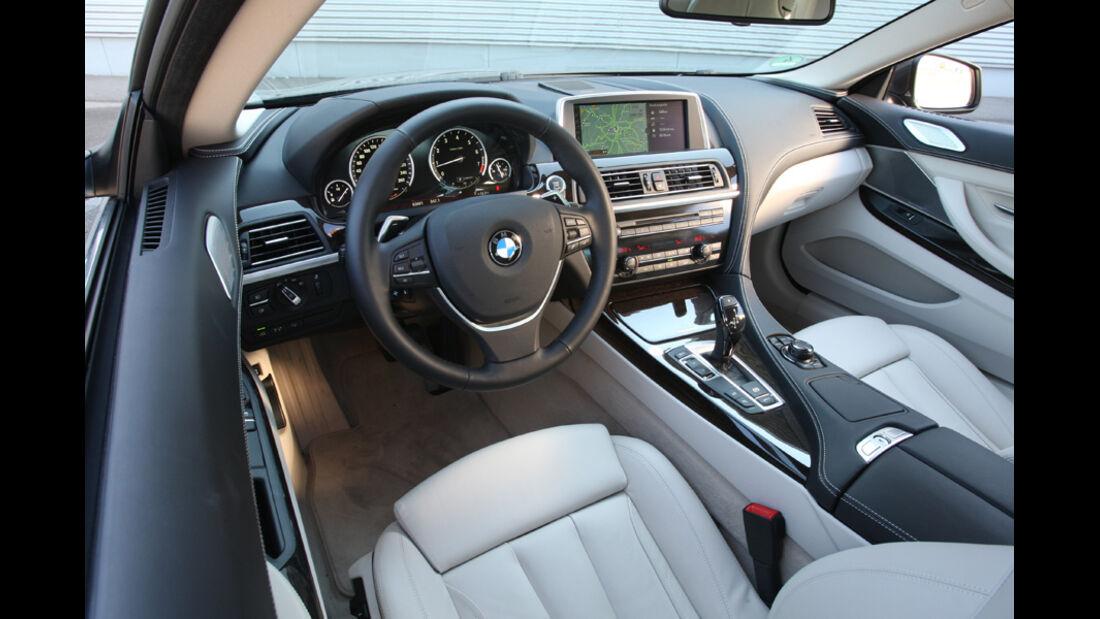 BMW 640i Coupe, Cockpit
