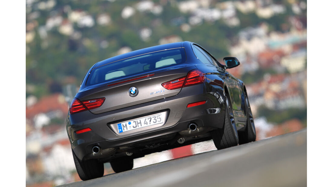 BMW 640i Coupe, Heck