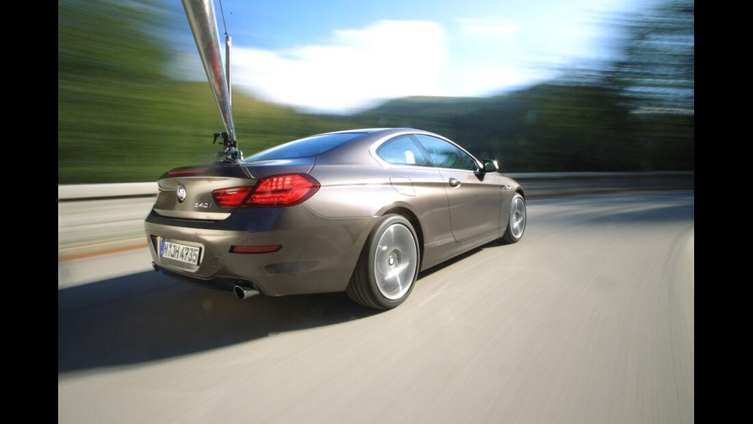 BMW 640i Coupe, Heck, Rücklichter