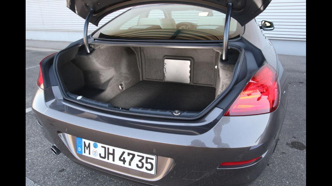 BMW 640i Coupe, Kofferraum