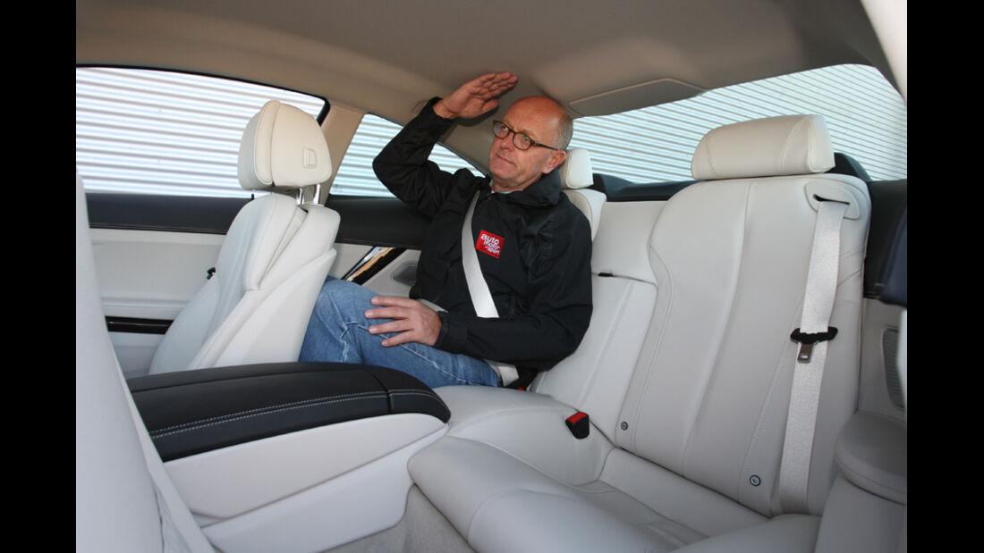 BMW 640i Coupe, Rücksitz, Götz Leyrer