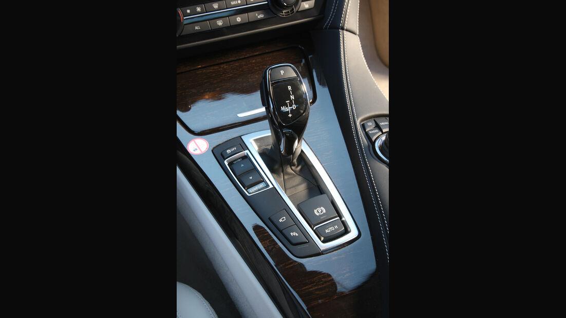 BMW 640i Coupe, Schalthebel, Schaltknauf