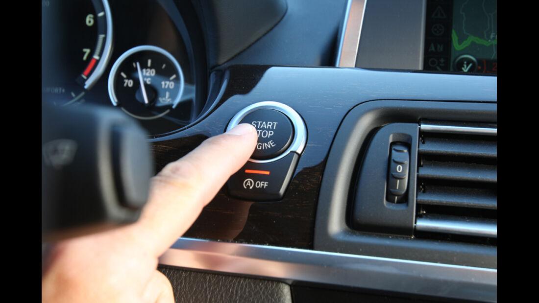 BMW 640i Coupe, Start-Stopp-Automatik