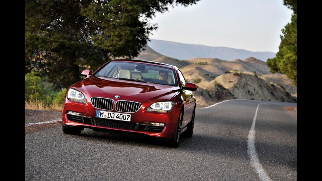 BMW 640i, Front, Motorhaube, Kühlergrill