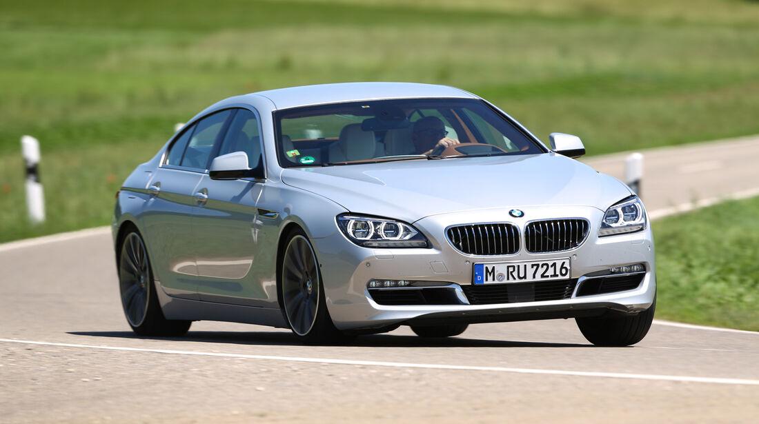 BMW 640i Gran Coupé, Frontansicht
