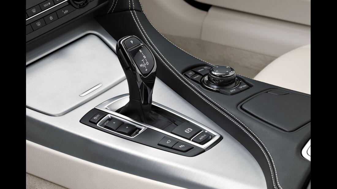 BMW 640i, Schaltknauf, Schalthebel