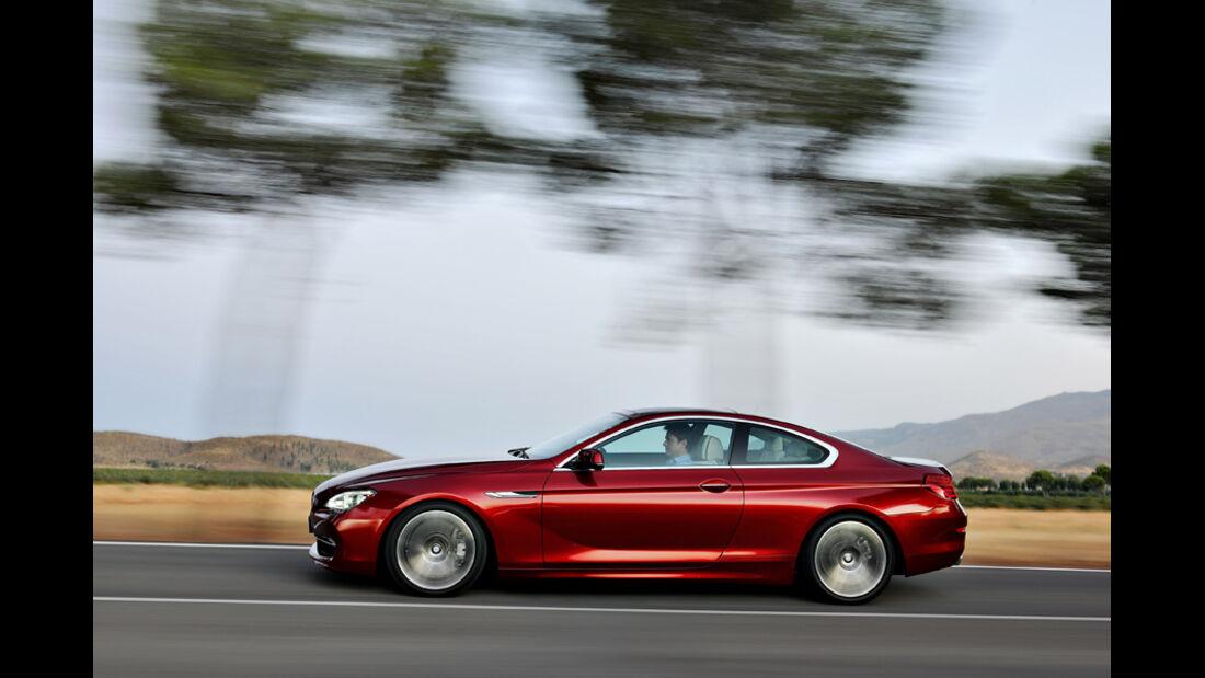 BMW 640i, Seitenansicht