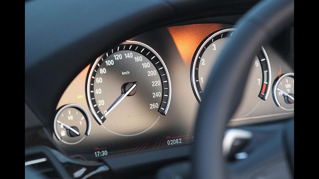 BMW 650i Cabrio, BMW 6er Cabrio, Cockpit, Tacho