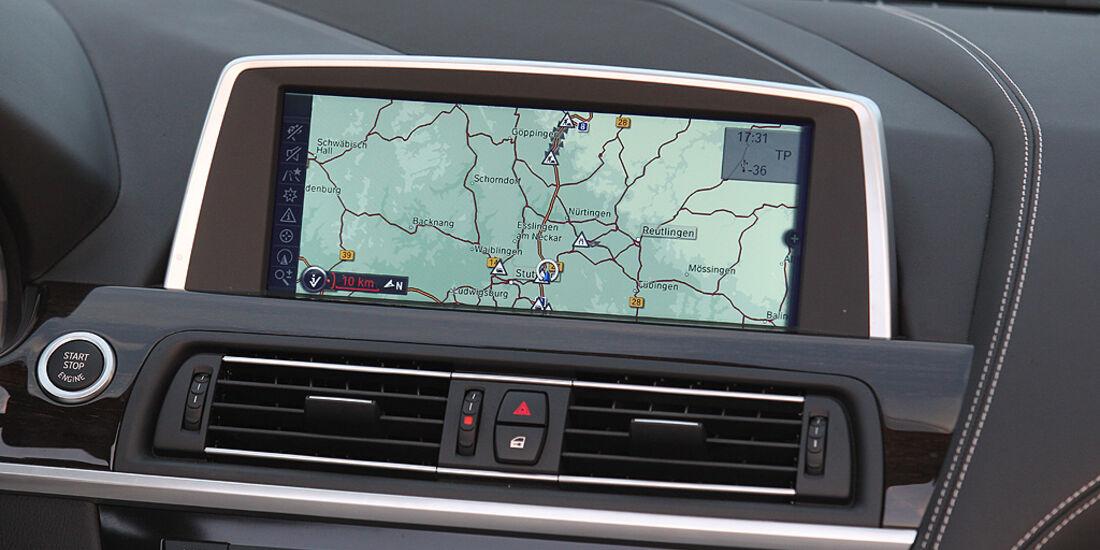 BMW 650i Cabrio, BMW 6er Cabrio, Flatscreen, Navigation