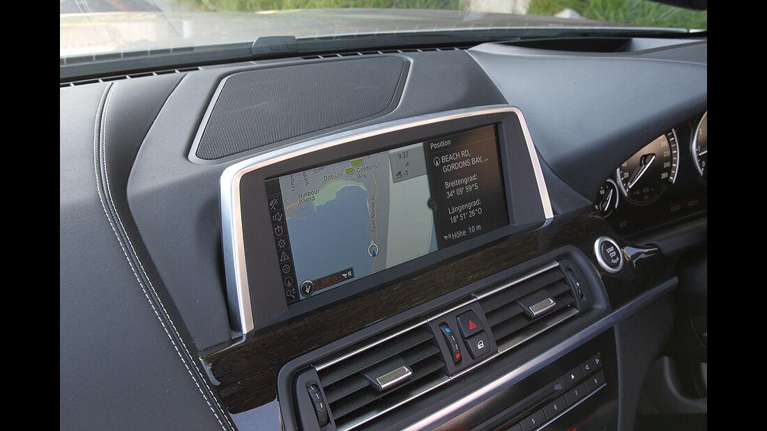 BMW 650i Cabrio, Innenraum, Bildschirm