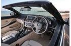 BMW 650i Cabrio, Innenraum, Cockpit