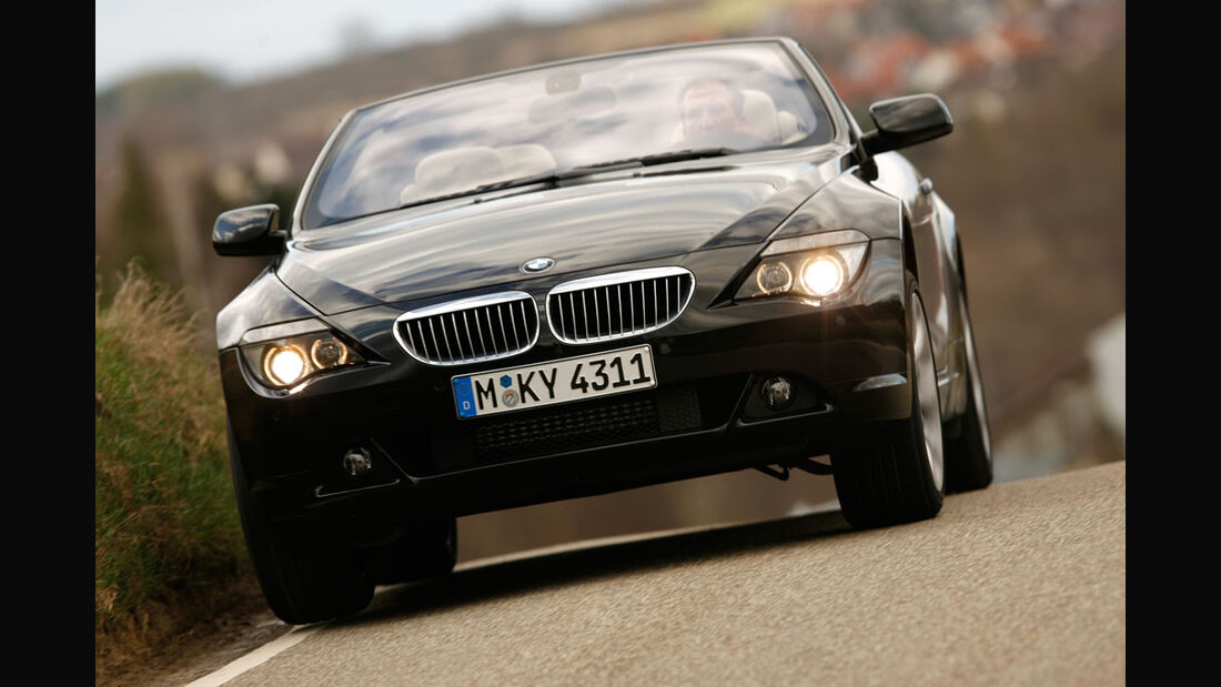 BMW 650i Cabrio - Jaguar XK 4.2 V8 Cabrio - Mercedes SL 500 04