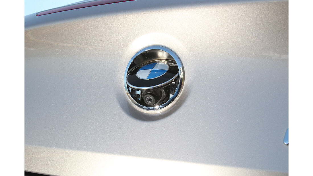 BMW 650i Cabrio, Rückfahrkamera