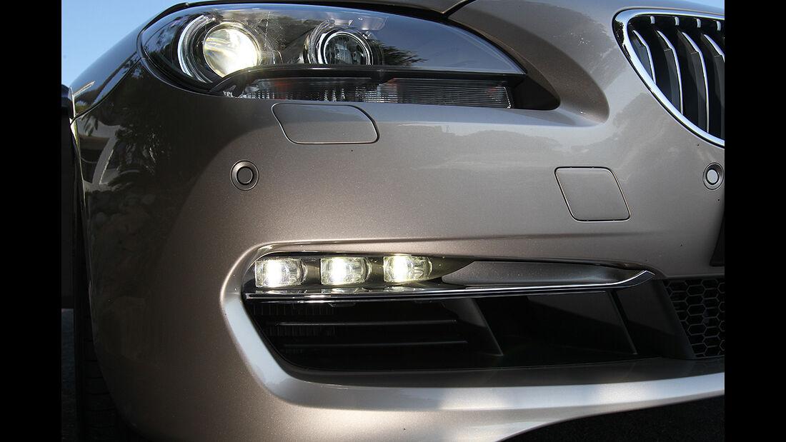 BMW 650i Cabrio, Scheinwerfer, LED-Tagfahrlicht