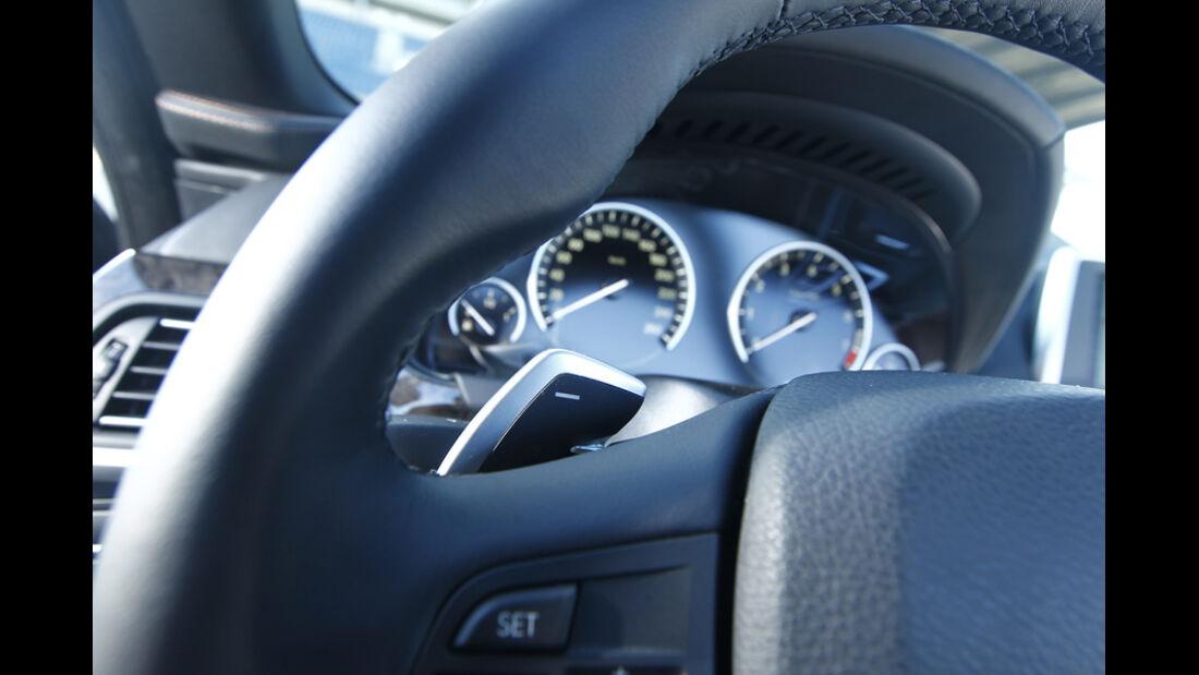 BMW 650i Cabriolet, Lenkrad, Detail, Anzeigeinstrumente