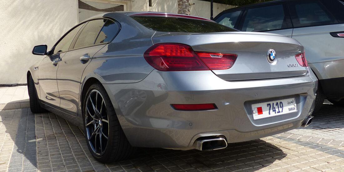 BMW 650i - Carspotting Bahrain 2014