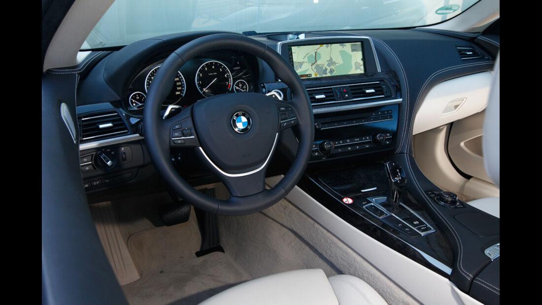BMW 650i Coupé, Cockpit