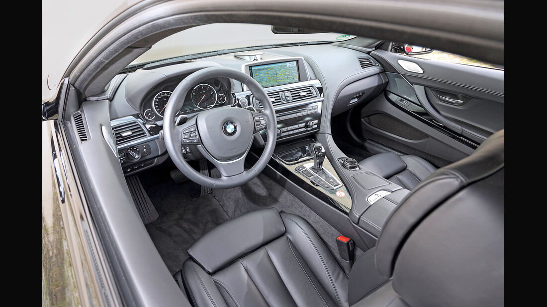BMW 650i Coupé, Cockpit