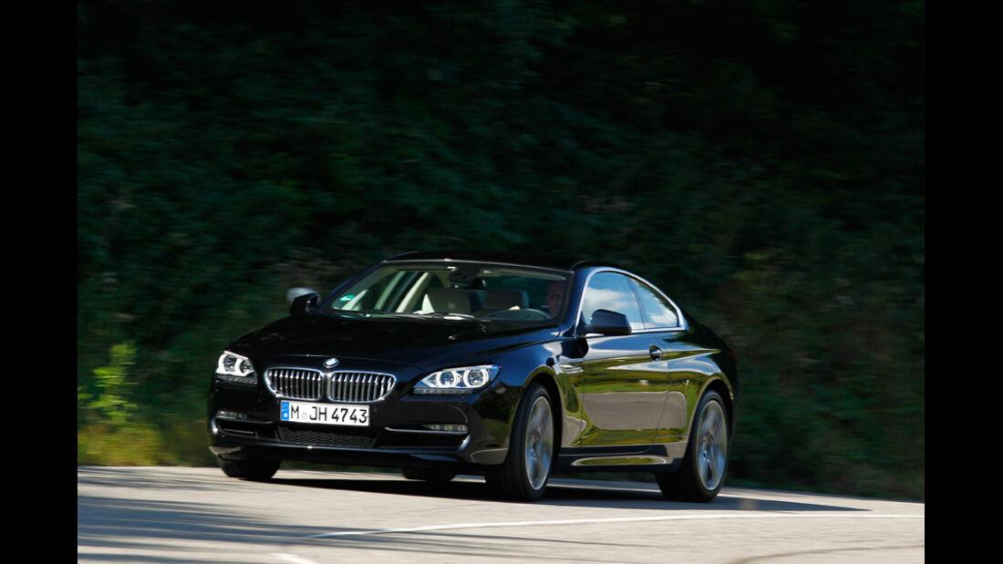 BMW 650i Coupé, Front