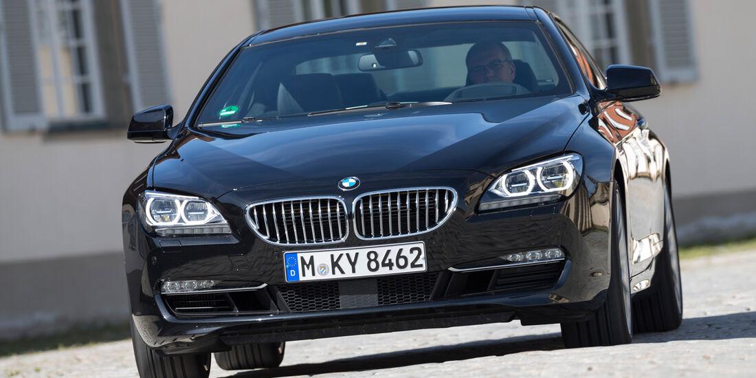 BMW 650i Coupé, Frontansicht
