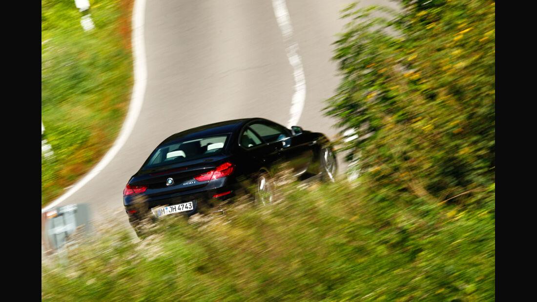 BMW 650i Coupé, Heck