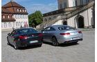 BMW 650i Coupé, Mercedes S 500 4Matic Coupé, Heckansicht