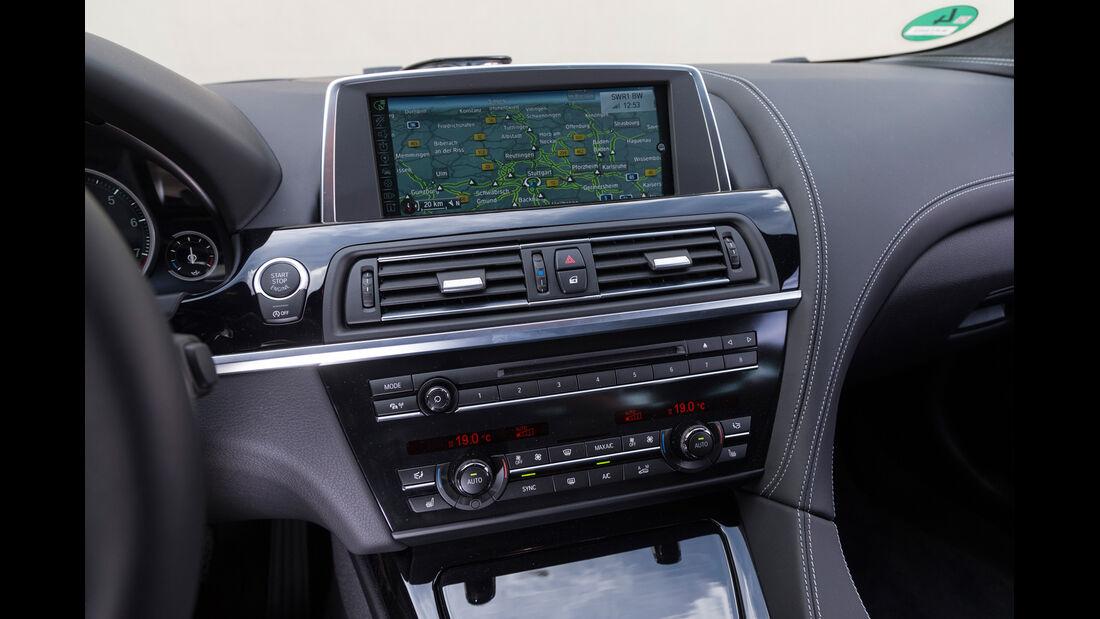 BMW 650i Coupé, Mittelkonsole