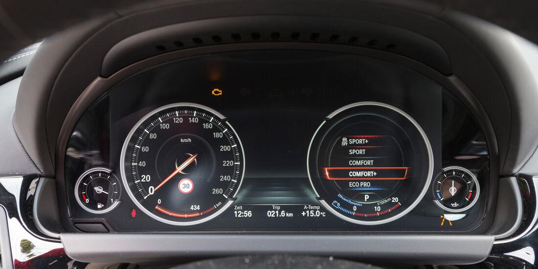 BMW 650i Coupé, Rundinstrumente