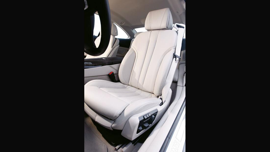 BMW 650i Coupé, Sitz
