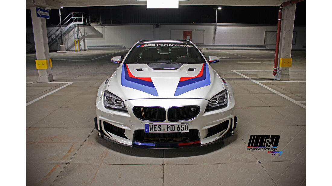 BMW 650i F13 - Tuning - M&D exclusive cardesign