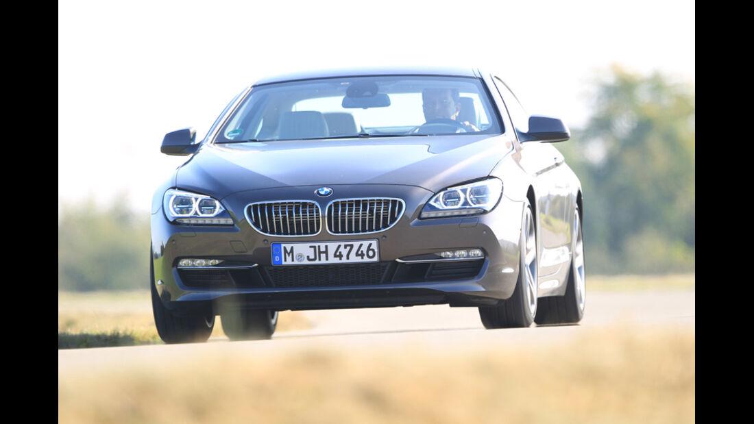 BMW 650i, Front